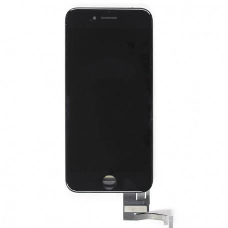 ECRAN LCD ET VITRE TACTILE NOIR ASSEMBLES IPHONE 7