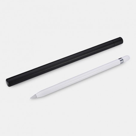 Porte Pencil pour iPad Pro en Aluminium et cuir Noir