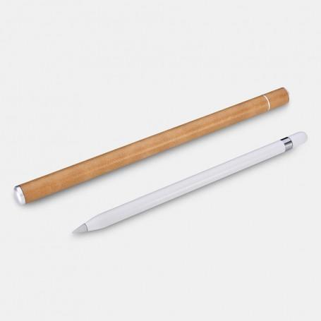 Porte Pencil pour iPad Pro en Aluminium et cuir Marron
