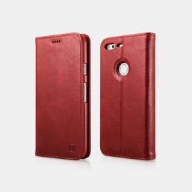 Genuine Leather Folio case Google Pixel XL en Rouge