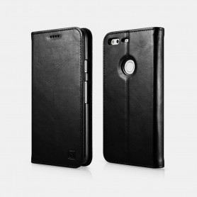 Genuine Leather Folio case Google Pixel XL en Noir