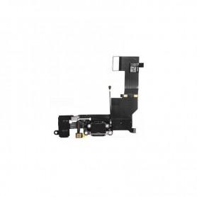 Connecteur dock de charge noir iPhone 5S