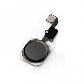 Bouton home avec nappe pour iPhone 6s/6s+ noir