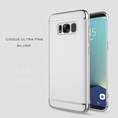 Samsung Galaxy S8 coque Ultra fine 3 en 1 en PC dur Silver