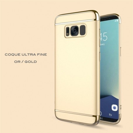 Samsung Galaxy S8 coque Ultra fine 3 en 1 en PC dur Gold