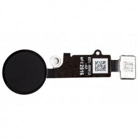 Bouton home avec nappe pour iPhone 7/7+ Noir