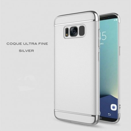 Samsung Galaxy S8 Plus coque Ultra fine 3 en 1 en PC dur Silver