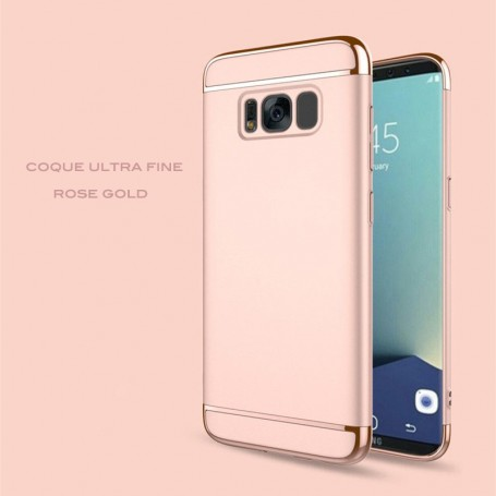 Samsung Galaxy S7 Edge coque Ultra fine 3 en 1 en PC dur Rose Gold