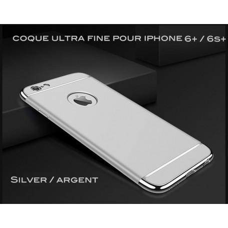 Coque Ultra fine 3 en 1 en PC dur Silver iPhone 6 Plus/6S Plus