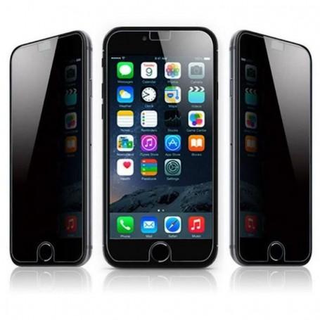 Verre trempé anti espion AntiSpy haute dureté pour iPhone 6 iPhone 6s