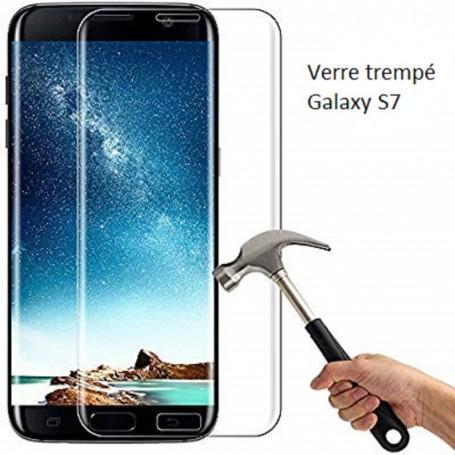 Verre trempé haute dureté pour Samsung Galaxy S7