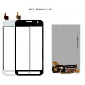 LCD et Vitre tactile pour...