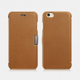 Etui icarer iPhone 6/6s Marron Litchi pattern