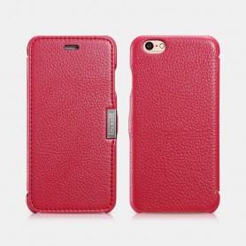Etui icarer iPhone 6/6s Rose Litchi pattern