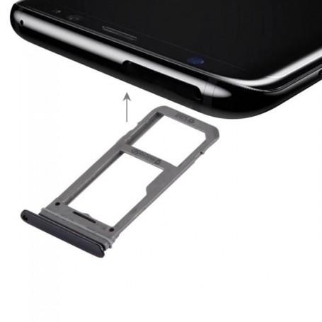 Tiroir de Carte Sim Samsung Galaxy S8 G950F  / S8 Plus G955F Noir