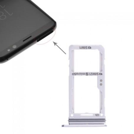 Tiroir de Carte Sim Samsung Galaxy S8 G950F  / S8 Plus G955F Gris