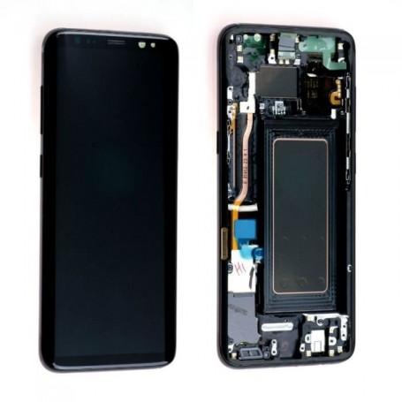 Ecran Complet LCD+Tactile+Châssis pour Samsung Galaxy S8 G950F Noir