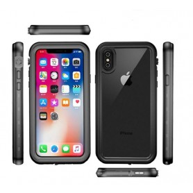 Coque Redpepper iPhone X XS Noir