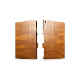 Etui Folio pour iPad Pro 9,7 pouces en cuir série Knight Marron Clair