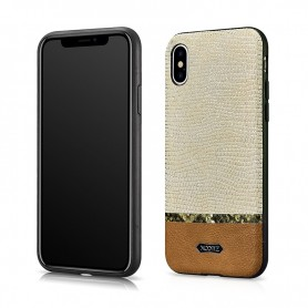 iPhone X/XS Coque en Cuir...