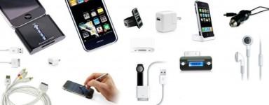 Accessoires pour smartphones, tablettes et ordinateurs.